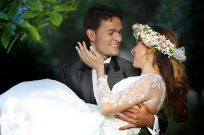 Un toque bucólico: la boda de Patricia y Humberto
