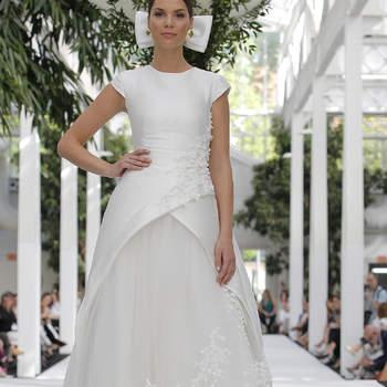 María Barragán. Créditos: Barcelona Bridal Fashion Week