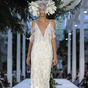 Roberto Diz. Credits: Barcelona Bridal Fashion Week