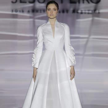 Photo : Jesús Peiró. Credits: Barcelona Bridal Fashion Week