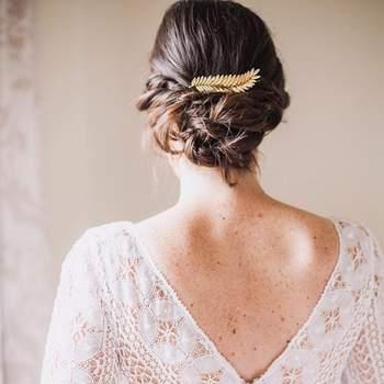 Penteado para noiva com cabelo preso   Foto: Urvan