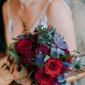 As rosas existem em muitas cores | Créditos:  env photography