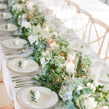 Свадебный декор со свечами. Добавьте света и тепла вашему событию!