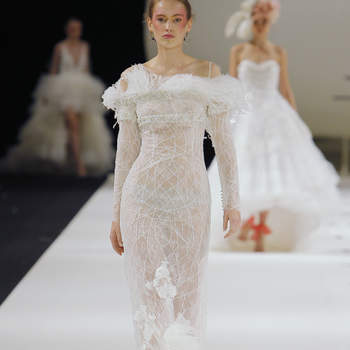 YolanCris. Credits: Barcelona Bridal Fashion Week