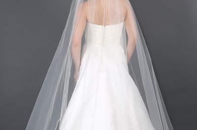 Découvrez les plus beaux voiles de mariée pour 2016 !