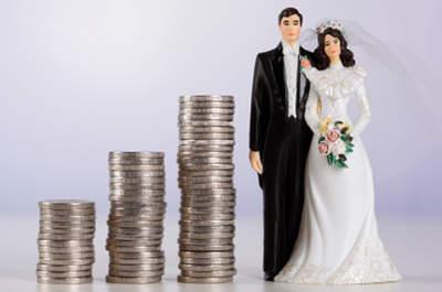 Why do 80% of weddings go over budget?