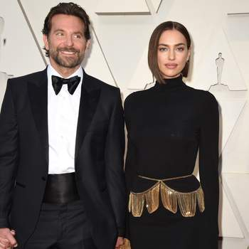 Bradley Cooper w stroju od Tom Ford i Irina Shayk  w sukience od Burberry  / Cordon Press