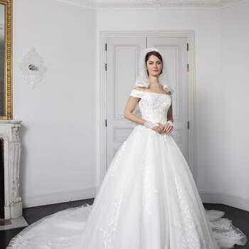 Photo : Robe de mariée Riya Bella Créations 2020 - Les Mariées de Talia
