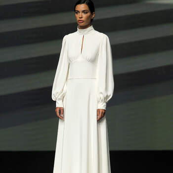 Carta Branca | Créditos: Valmont Barcelona Bridal Fashion Week 2020