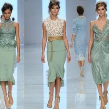 3 modèles de la collection P / E par  Ermanno Scervino.  Photo www.donna.tuttogratis.it