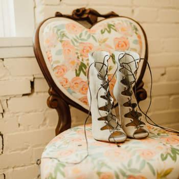 Chaussures de mariée blanches Light as Gold