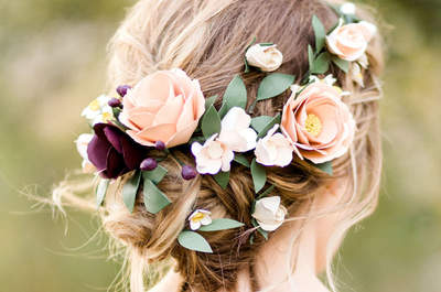 Descubre los mejores peinados de novia recogidos, ¡ficha el tuyo!