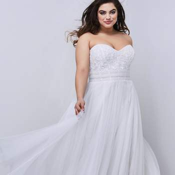Modelo vestido Siobhan da Wtoo