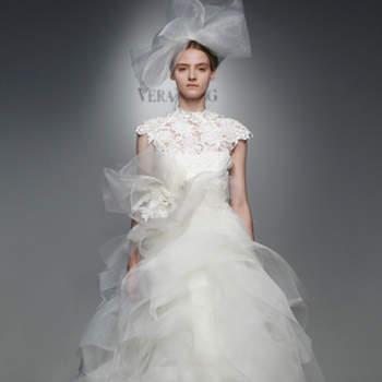 Vestido de noiva pssarela.
