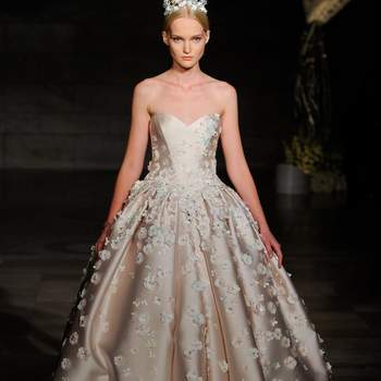 Créditos: Reem Acra  | Barcelona Bridal Fashion Week