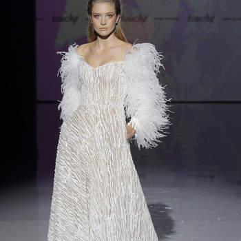 Photo : Isabel Zapardiez. Credits: Barcelona Bridal Fashion Week