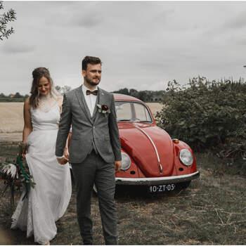 Berry Kissed Boho Bridal Shoot: een mix van natuur, industrieel en bohemian!   Foto: Gina Vink Fotografie