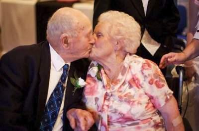 Joyce y Frank Dodd, una pareja que se mantuvo unida hasta el final