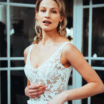Photo : Guillaume Gilles - Elsa Gary, robe de mariée Destiinée