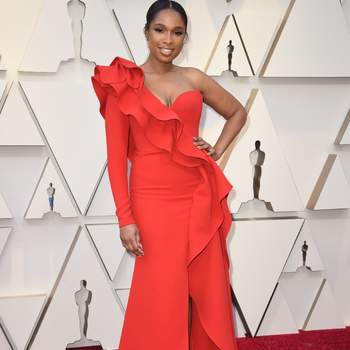 Jennifer Hudson w sukience od Elie Saab / Cordon Press