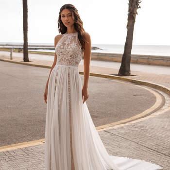 Créditos: Pronovias Cruise 2021 | Modelo do vestido: Granville