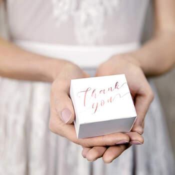 Caja Thank You 10 unidades- Compra en The Wedding Shop