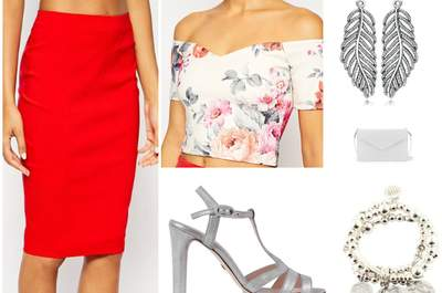 5 looks de soirée pour une invitée à la pointe des tendances mode