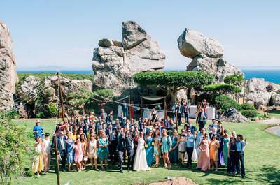 Increíbles imágenes de boda realizadas con drones, ¡tienes que verlas!