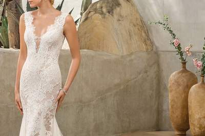 Vestidos de novia corte sirena con los que causarás sensación. ¡Descúbrelos!