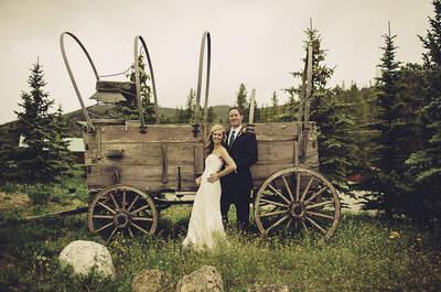 Real Wedding: Boda campestre con decoración rústica silvestre
