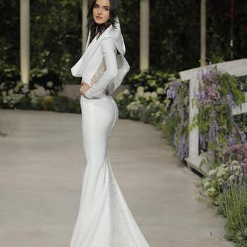 Pronovias. Credits_ Barcelona Bridal Fashion Week