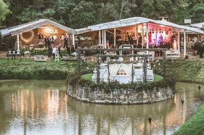 Vive la magia de una boda rústica muy cerca a Bogotá: ¡Descúbrela en este lugar!