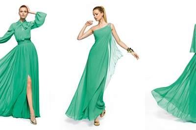 Du vert émeraude pour votre mariage en 2013