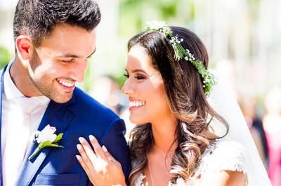 Casamento diurno de Fabiana & Daniel: decoração romântica em meio à natureza de Florianópolis!