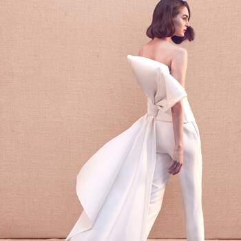 Oscar de la Renta Bridal Primavera 2020. Foto: Cortesia de Oscar de la Renta.