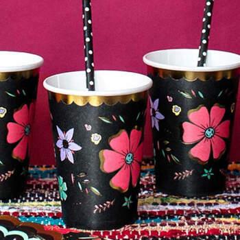 Vasos Dia de los Muertos 6 unidades- Compra en The Wedding Shop