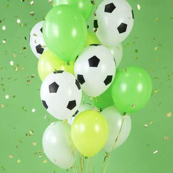Ballons Football 6 Pièces - The Wedding Shop !