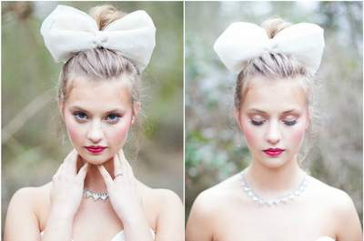 High buns and up-dos: The best of bridal hair for 2015