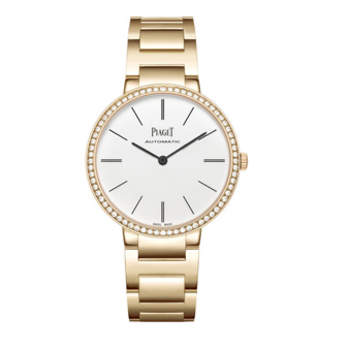 PIAGET ALTIPLANO OURO 34MM, 68 DIA 0.62CTS