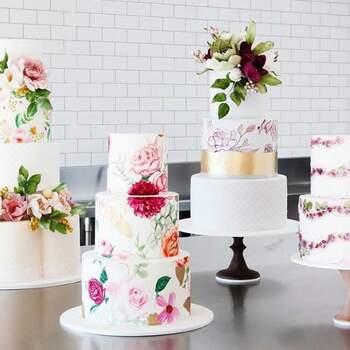 Foto: Cake Ink - Pasteles de bodas con pintura tipo acuarela