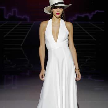 Marylise by Rembo Styling. Credits: Credits_ Barcelona Bridal Fashion Week