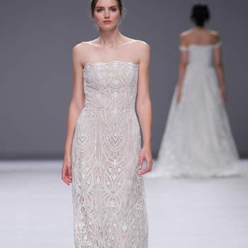 Esther Noriega. Credits: Barcelona Bridal Fashion Week
