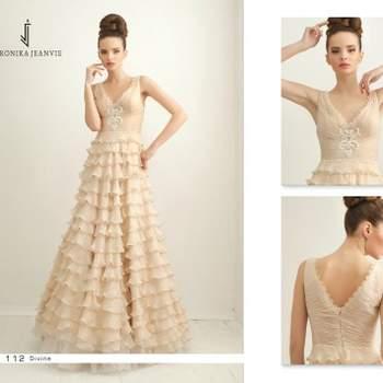 Robe de mariée Veronika Jeanvie - modèle Divine
