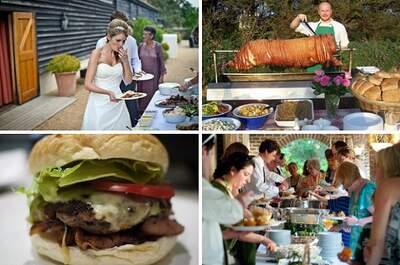 5 Sumptuous menu ideas for your Summer Wedding