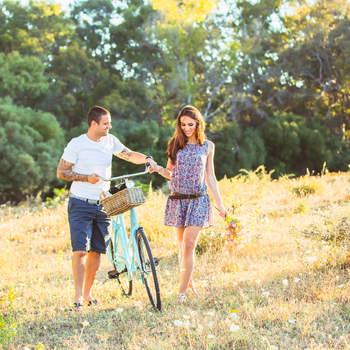 """""""Celebrar una boda en verano nos garantiza unas condiciones de luz fantásticas"""".  Foto: The Love Hunters"""