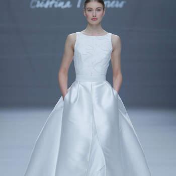 Photo : Cristina Tamborero. Credits_ Barcelona Bridal Fashion Week