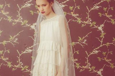 Impresionantes velos de novia que harán tu estilismo más especial. ¡Toma nota!