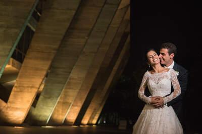 Casamento clássico de Mari e Bruno: romântico, com um toque rústico e música para todos os gostos!