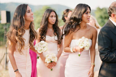 El decálogo perfecto de las damas de boda: 10 elementos obligados para tomar en cuenta
