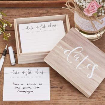 Caja De Madera Actividades En Pareja- Compra en The Wedding Shop